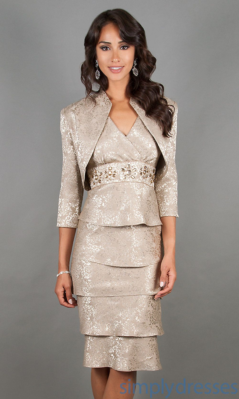 Party Dresses with Jackets