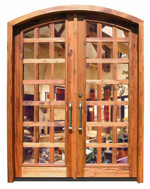 Entry Doors 14th French Pane Arched Doors 2488gp Event Center