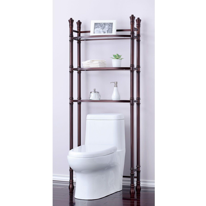 Brands Monte Carlo Bathroom Space Saver (Oil Rubbed Bronze), Brown ...
