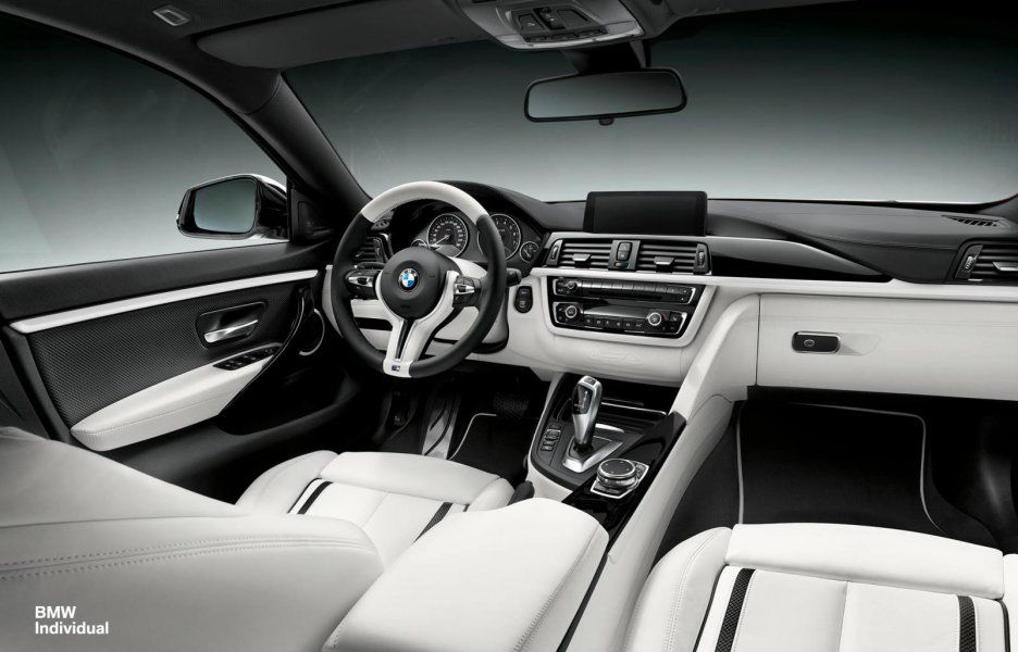 Bmw 4 Series White Interior With Images Bmw 4 Series Gran
