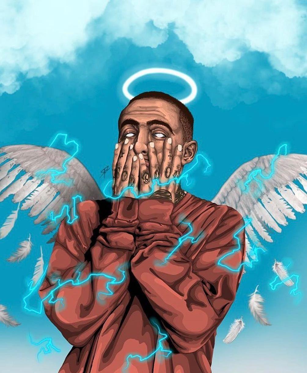 """Mac Miller's Teeth on Instagram: """"ANGEL �"""""""