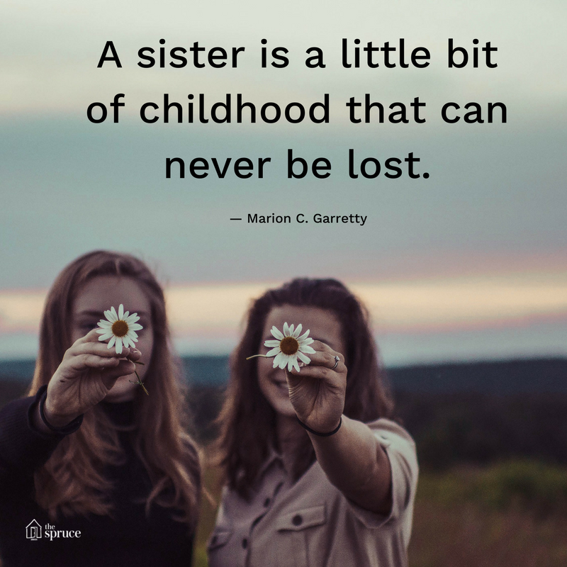 Top Inspiring Quotes About Sisters & For Sister Quotes In