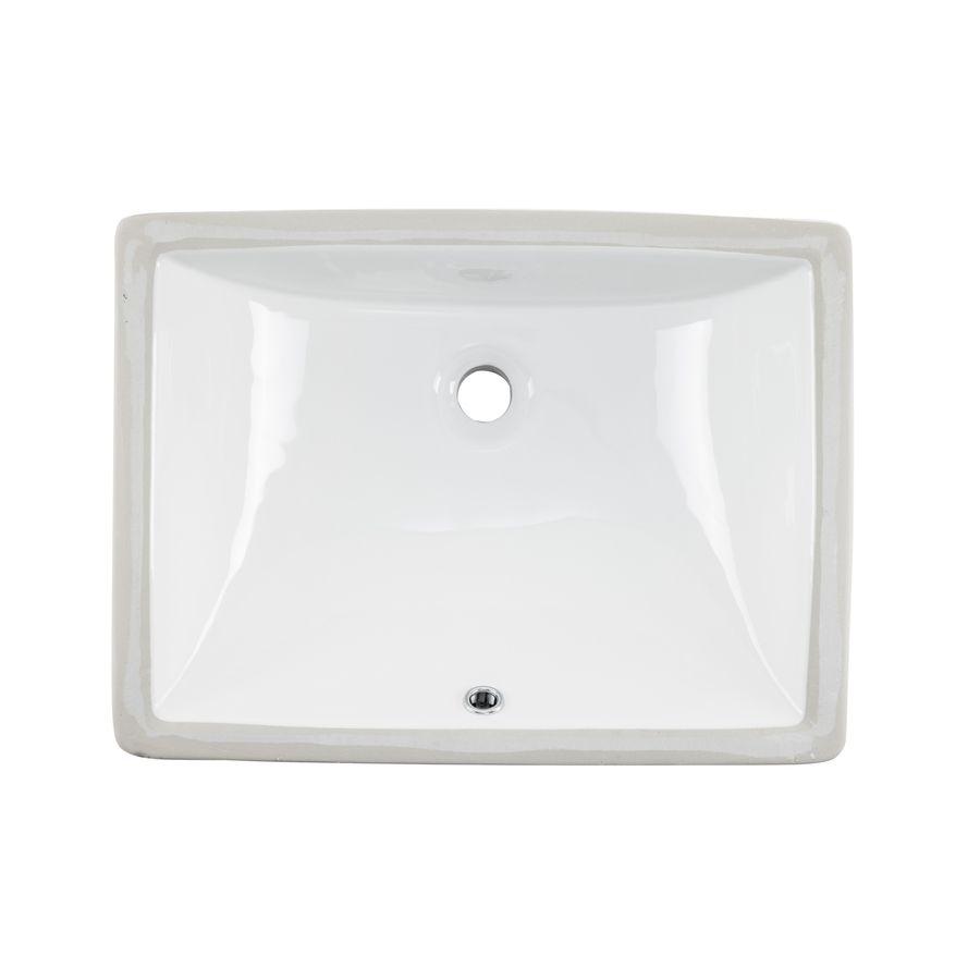 Mold In Bathroom Sink Overflow superior sinks white/glazed porcelain undermount rectangular