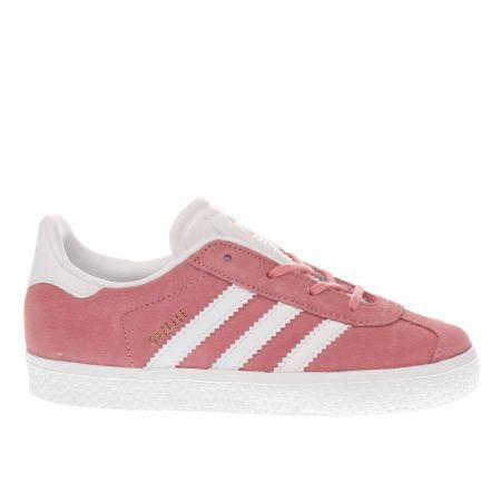 bambini adidas rosa gazzella ragazze bambino niente scarpe pinterest