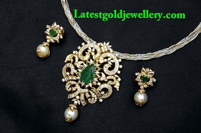 Diamond pendant set diamond pendants pinterest pendant set diamond pendant set aloadofball Choice Image
