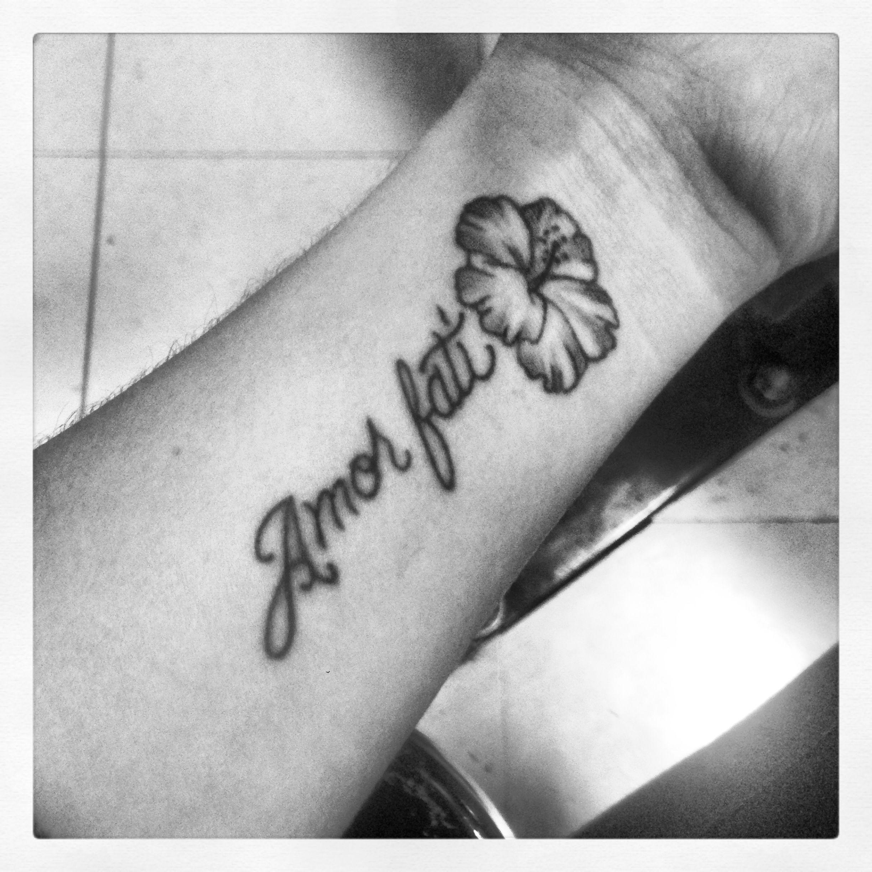 Amor fati. Love your fate. Tattoo love. Tattoos
