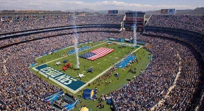 Comcast To Steal Centerplate S Qualcomm Deal Qualcomm Stadium San Diego Chargers San Diego Activities