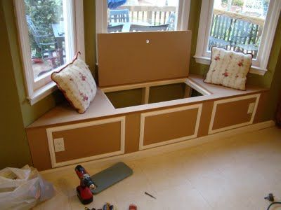 Window Seat Bay Window