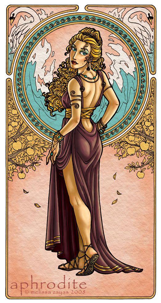 Aphrodite Goddess Of Love By Melzayas On Deviantart