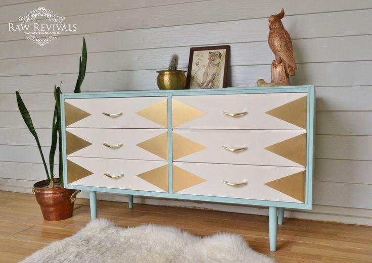 Relooker vos vieux meubles en bois avec de la peinture pastelle et - peinture pour relooker meuble en bois