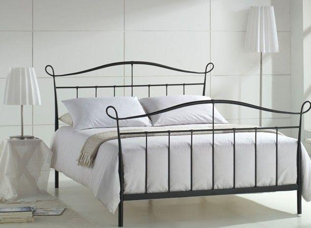 joseph senna metal bed frame - Steel Frame Bed