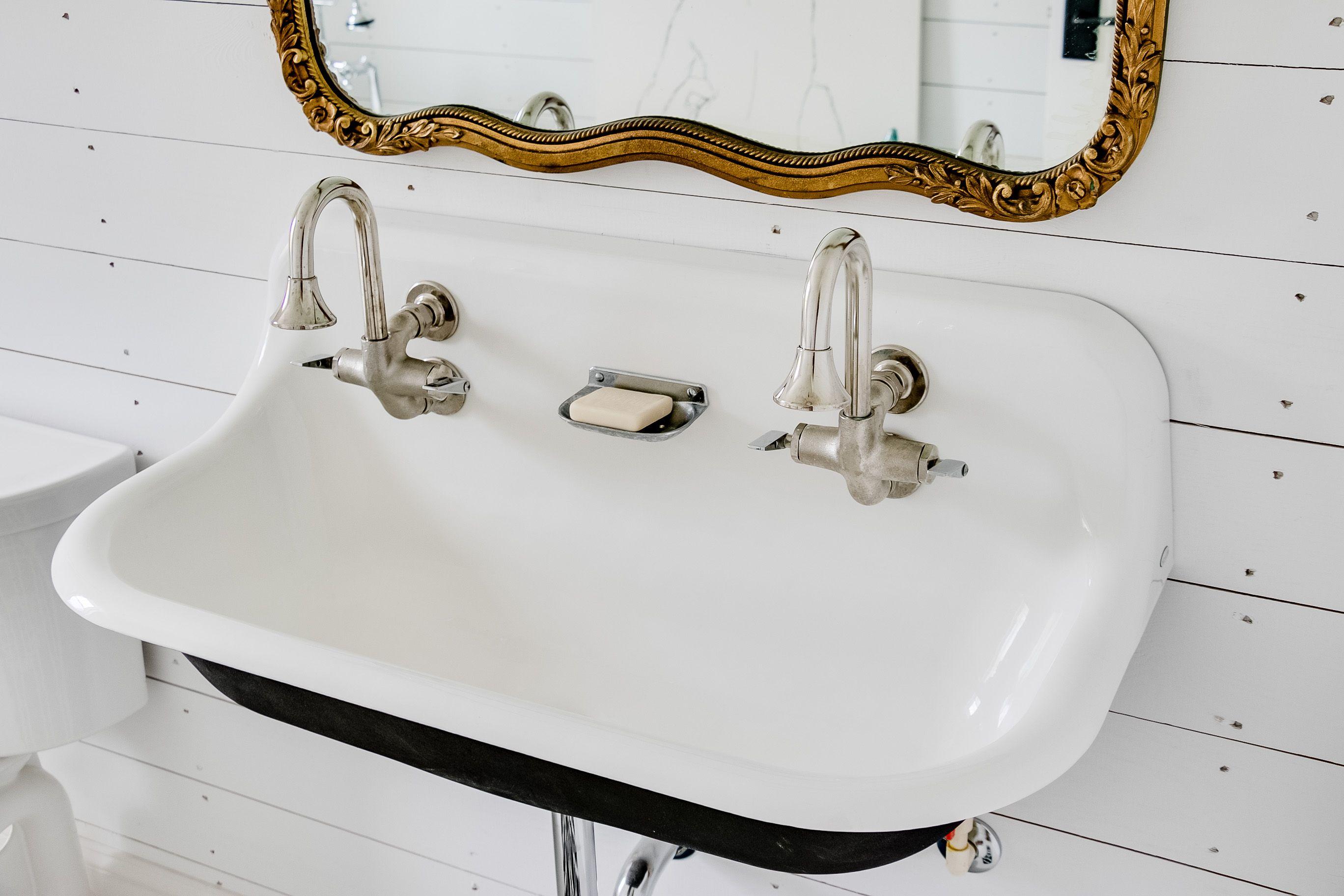 bathroom sink hotandcold shiplap Sink, Shiplap, Bath