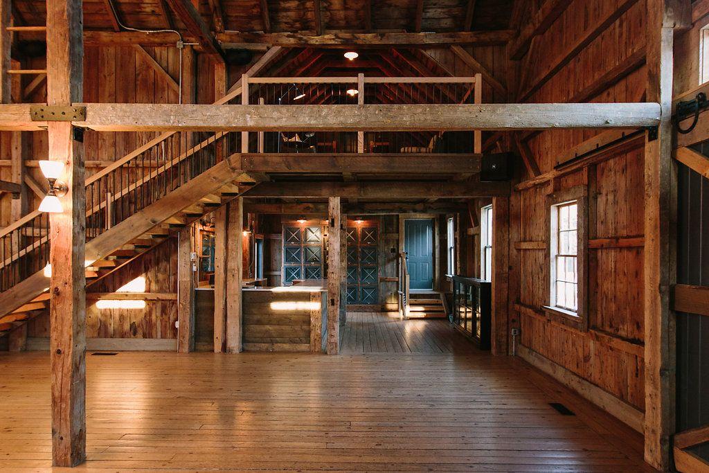 Rustic elegant Maine wedding barn venue: The Barn at ...
