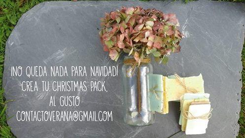 No olvides encargar tu pack. Christmas Pack. #veranasoaps #handmade #jabonartesano www.facebook.com/veranasoaps contactoverana@gmail.com