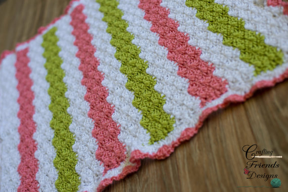 Baby Tay Ripple Afghan crochet pattern by Crafting Friends Designs ...