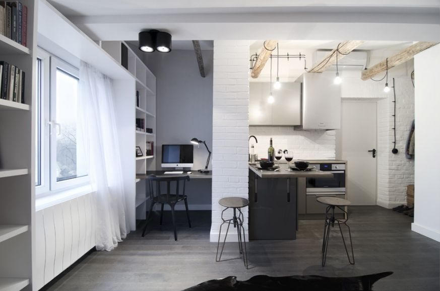 Mieszkanie 17m2 Interior Furniture Home Decor Home