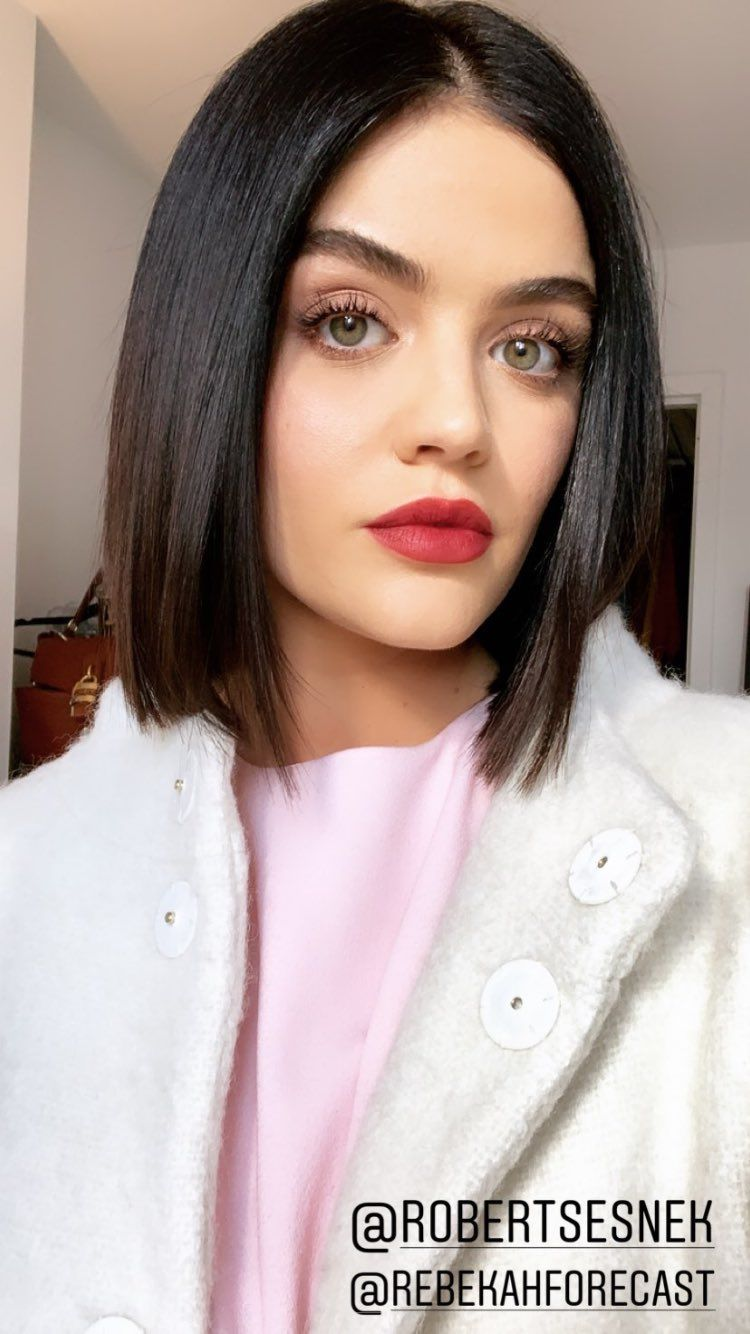 How To Get Ultra Shiny Hair Like Lucy Hale Hair Beauty Skin Deals Me Fashion Love Cute Style W Short Hair Styles Lucy Hale Short Hair Lucy Hale Hair