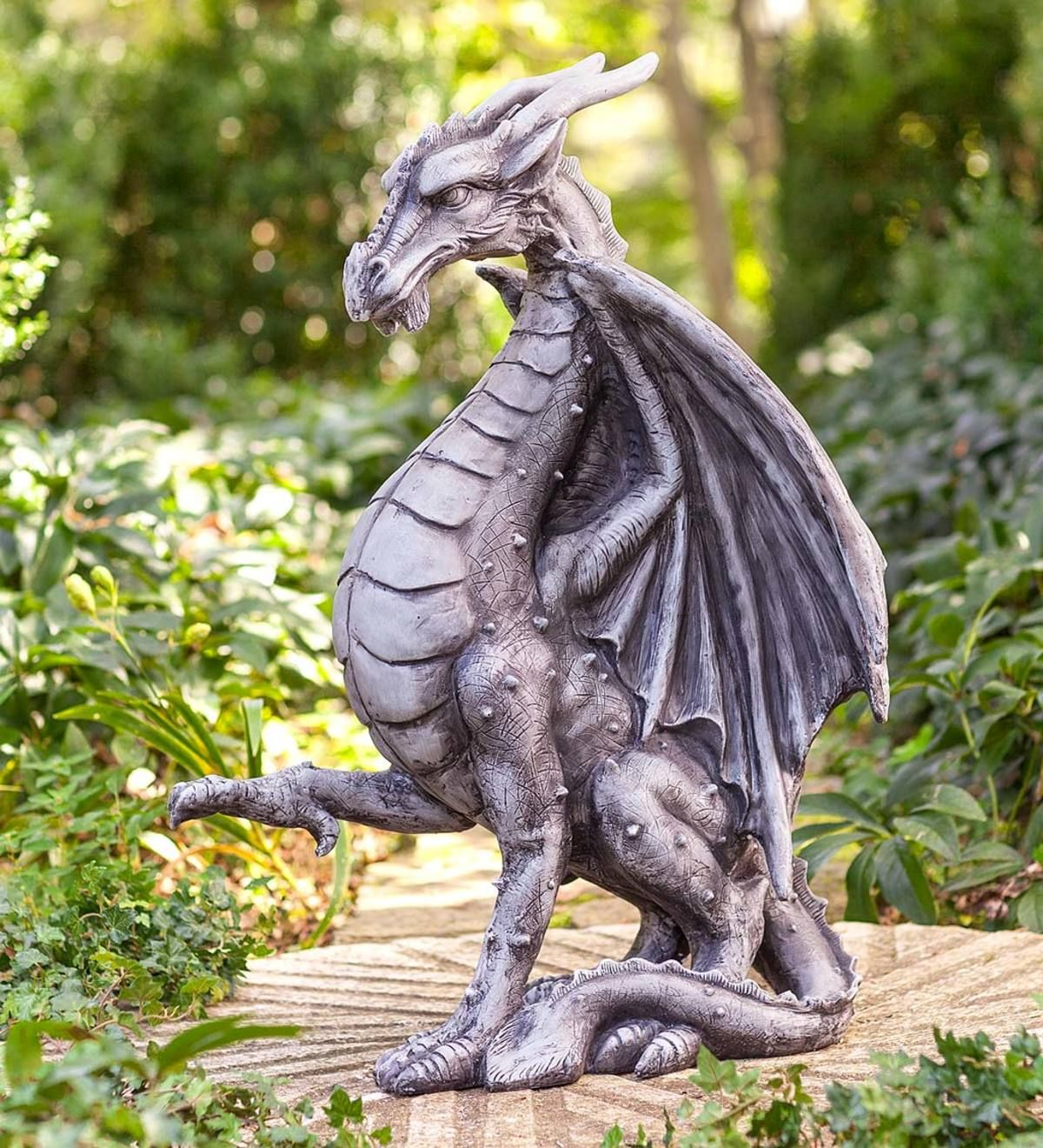 Large Indoor Outdoor Medieval Dragon Statue All Statues Sculptures Deck And Patio Yard Patio Wind And Weather Medieval Dragon Dragon Statue Dragon Sculpture