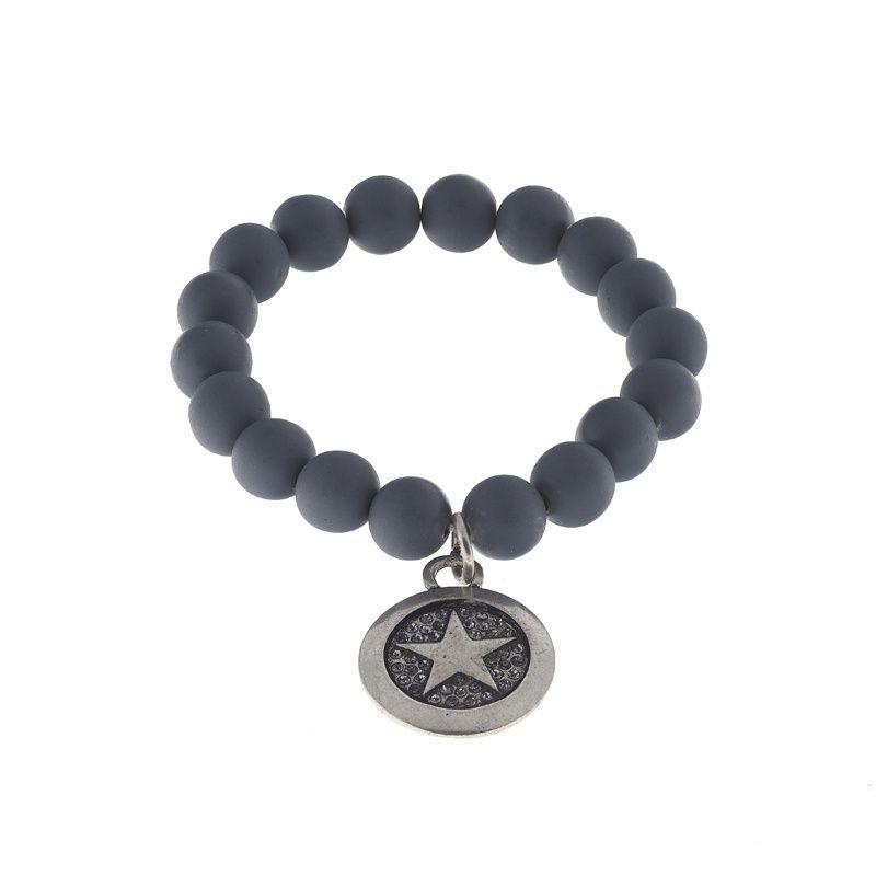 BIBA armband donkerblauw / ster #moojste verkrijgbaar via www.moojste.nl