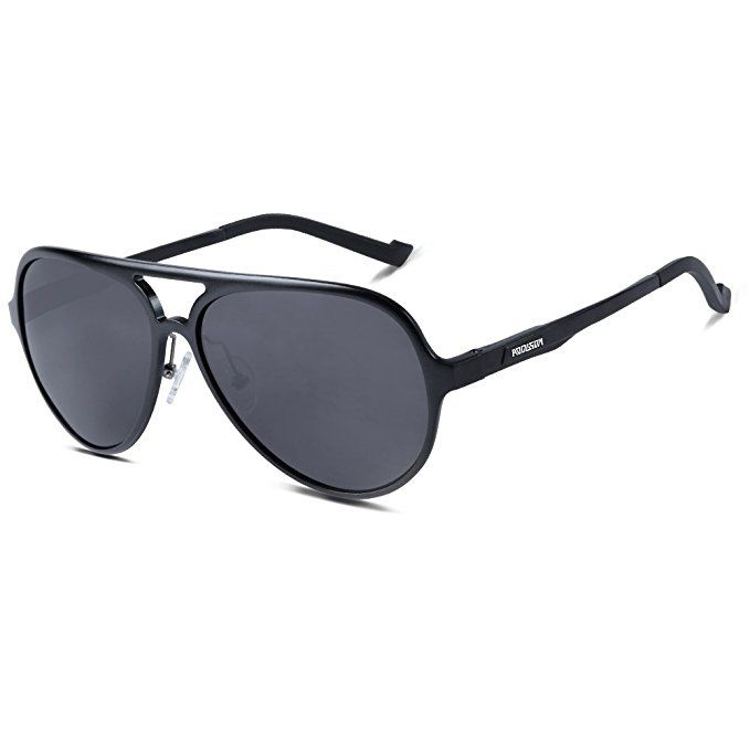 6721861e69 HODGSON Aviator Polarized Sunglasses for Men Women