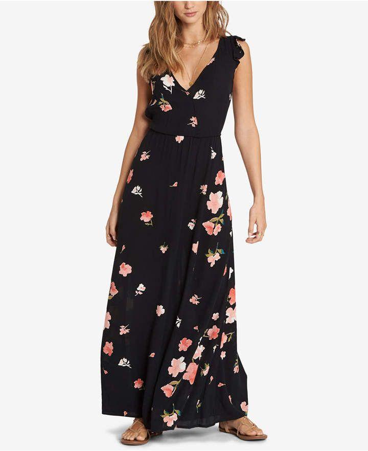 f3ebd89071 Juniors' Flutter-Sleeve Maxi Dress in 2019 | Products | Maxi dress ...