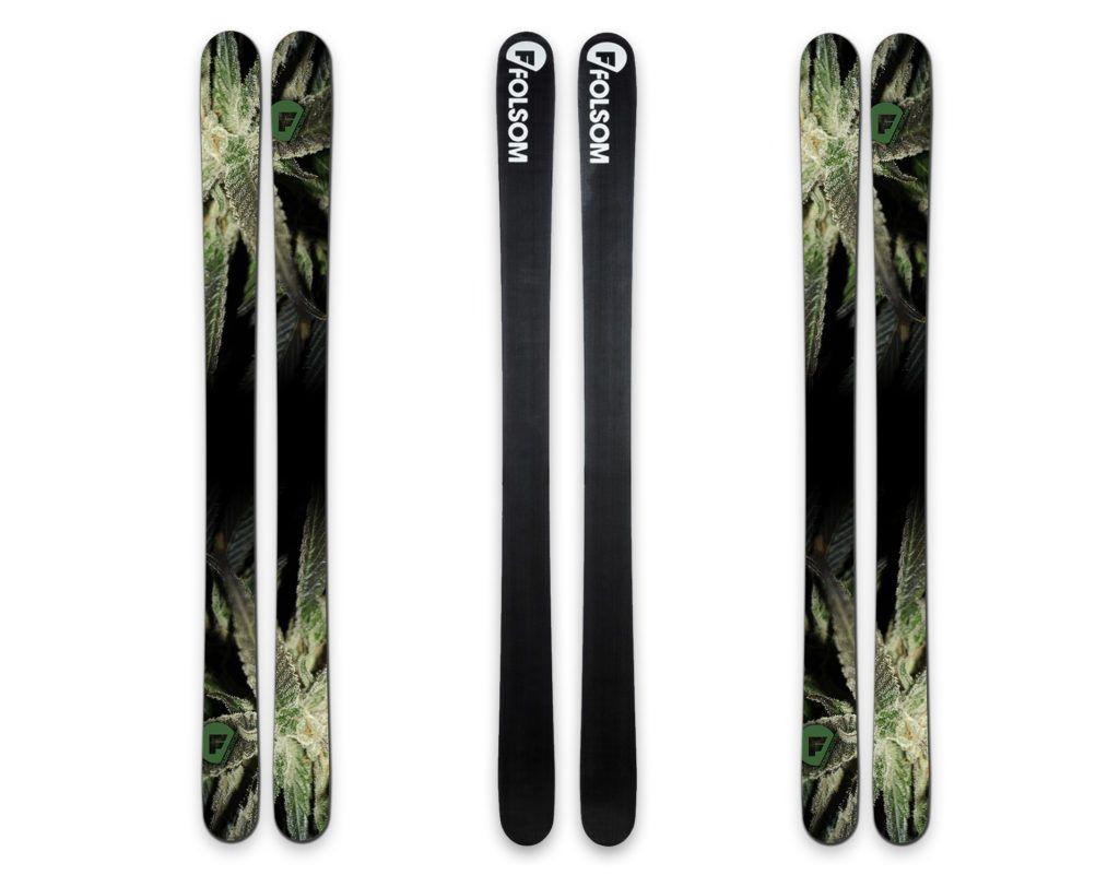 Custom Designed Skis - The New Smoker Folsom Skis