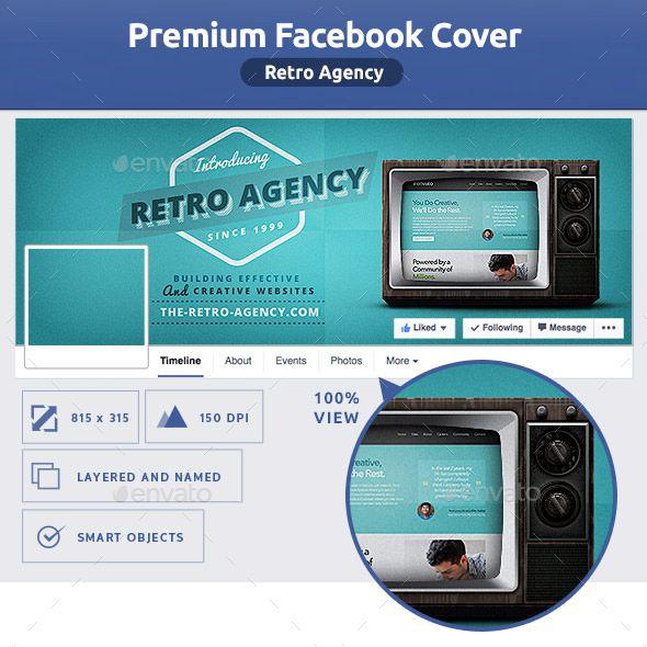 Facebook Cover Template, Creative