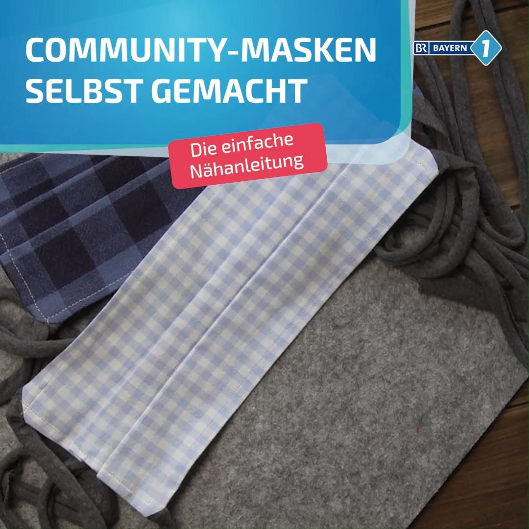 Photo of Community-Maske selbermachen