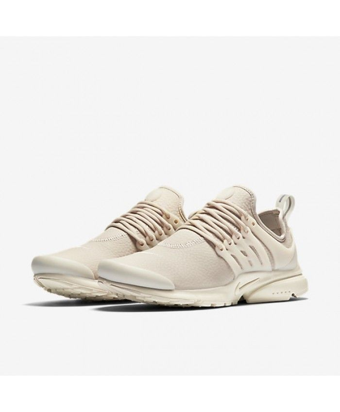 big sale 297f4 99b32 Nike Air Presto Premium Oatmeal White Womens Shoes   Trainers 70% Off Sale