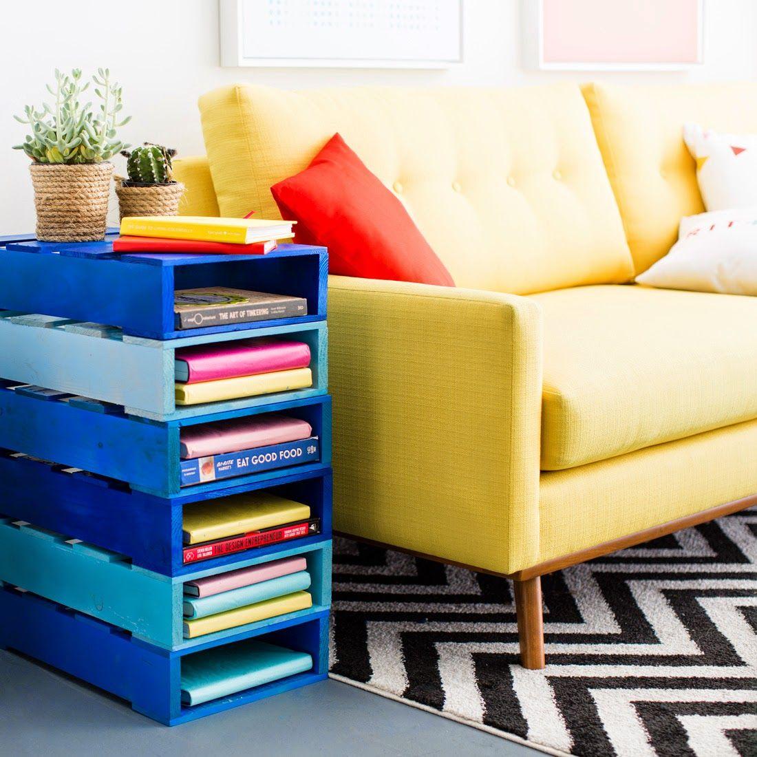 anapakova: DIY - Librero de Pallet | Ideas para la casa | Pinterest ...