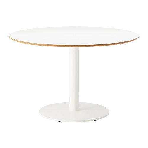 BILLSTA Tisch, weiß, weiß Öffentliche bereiche, Erfüllt und - runder k chentisch wei