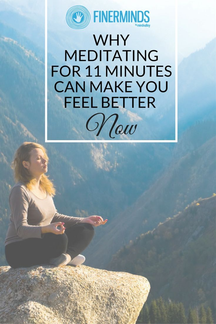 How long to meditate for anxiety