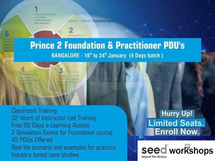 Prince2 Certification Training In Banglore Httpsseedworkshops