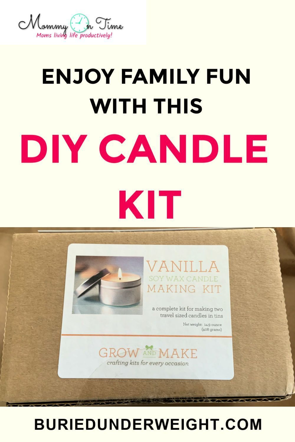 Grow and Make DIY Candle Making Kit Review 2020 Diy