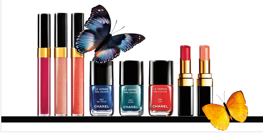 The Delicate Butterfly! Chanel's amazing summer make up collection! http://missperfection.co.uk/?p=242