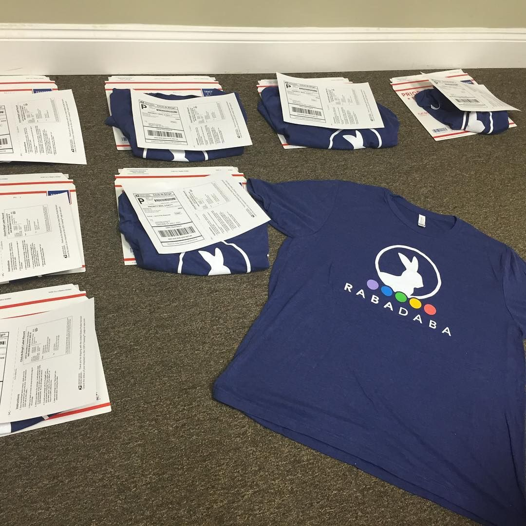 Check out the #Rabadaba App #RABADABA scavenger hunt winners will be receiving their shirts soon!
