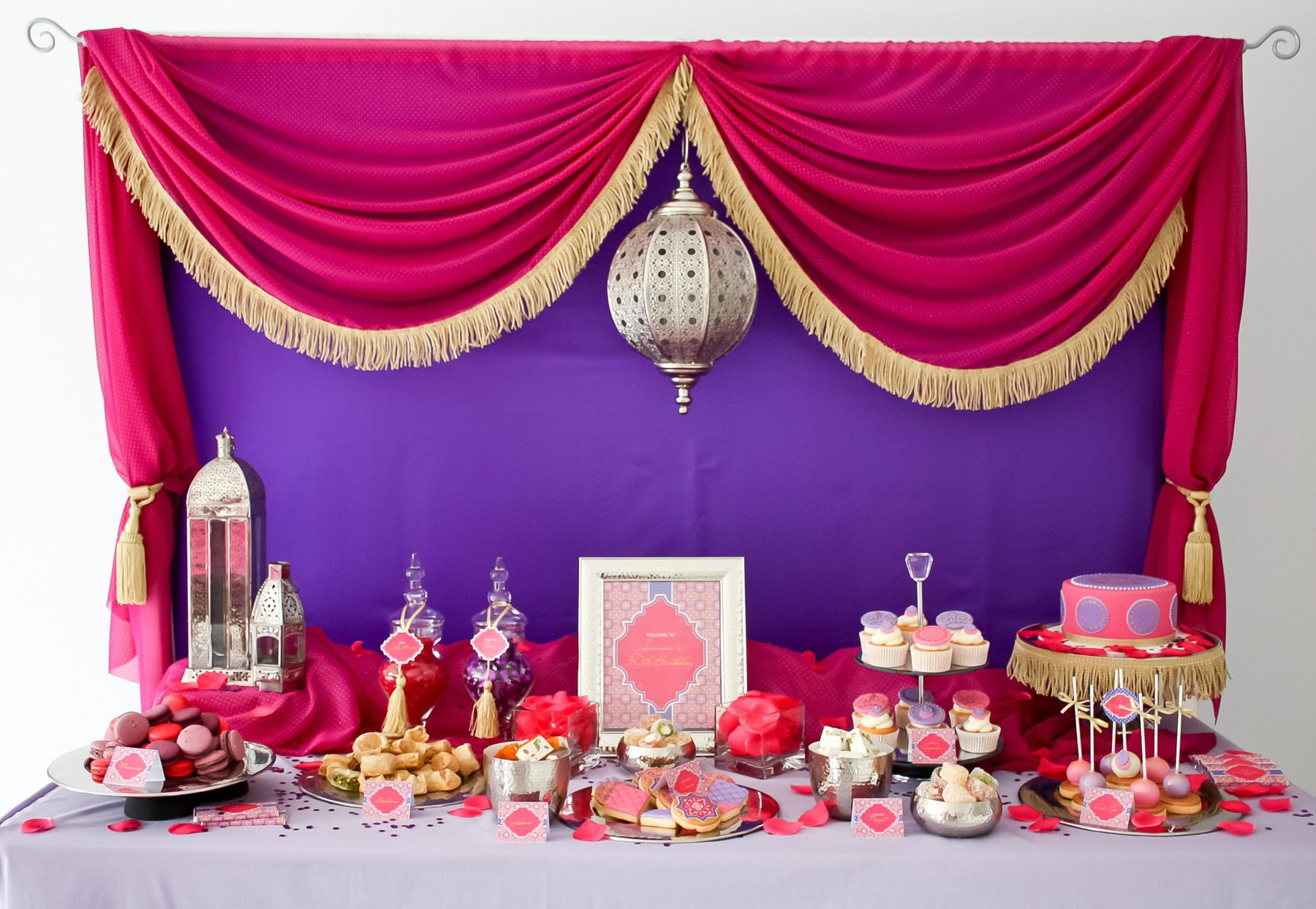 Stunning Moroccan birthday party dessert table | Best of: Kids ...