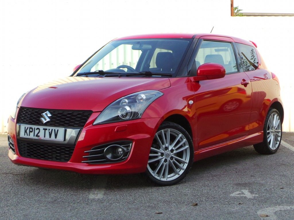 Suzuki swift sport 2013 pictures to pin on pinterest - Suzuki Swift 1 6 136bhp Sport 3dr Inc 17 Inch Alloys Climate Control Bluetooth And Auto Lights