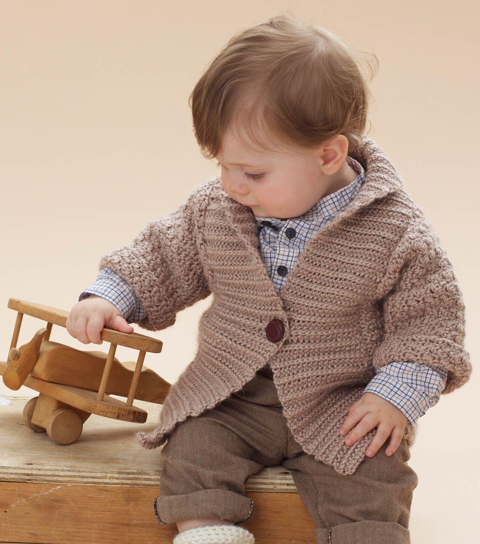 Shawl Collar CardiganShawl Collar Cardigan | Baby Crochet ...