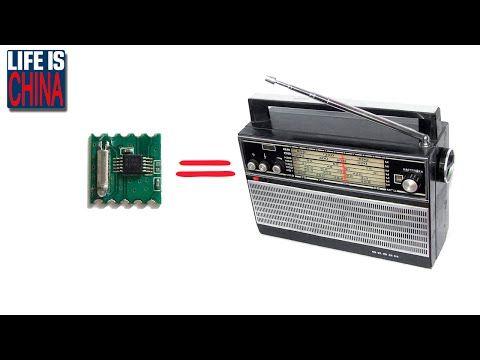 FM РАДИО МОДУЛЬ RDA5807M. FM stereo radio tuner (товары из Китая) - YouTube