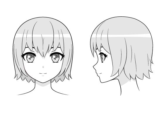 New Chibi Head Anime Head Chibi 2d Art