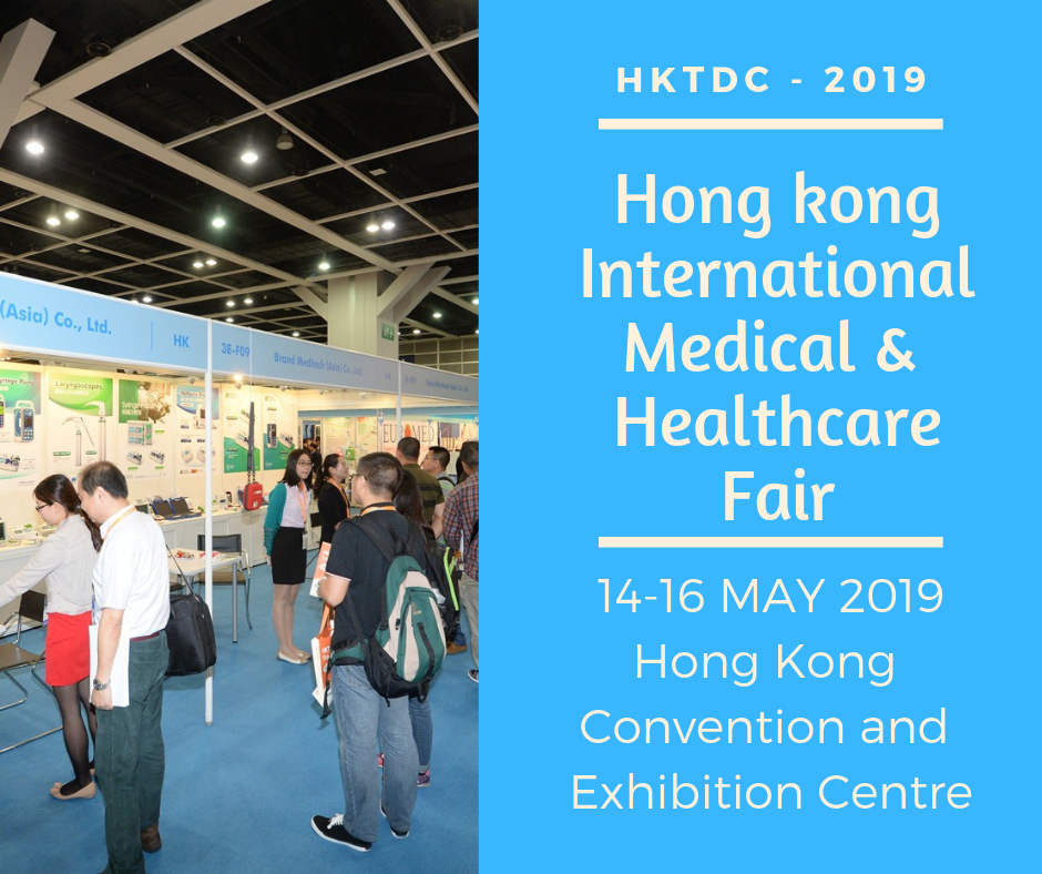 Hong Kong International Medical and Healthcare Fair 2019 is being