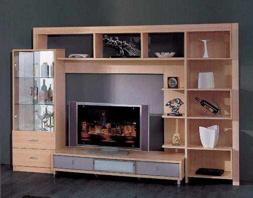 Algunos dise os de centro de tv importante identi for Disenos de modulares para living