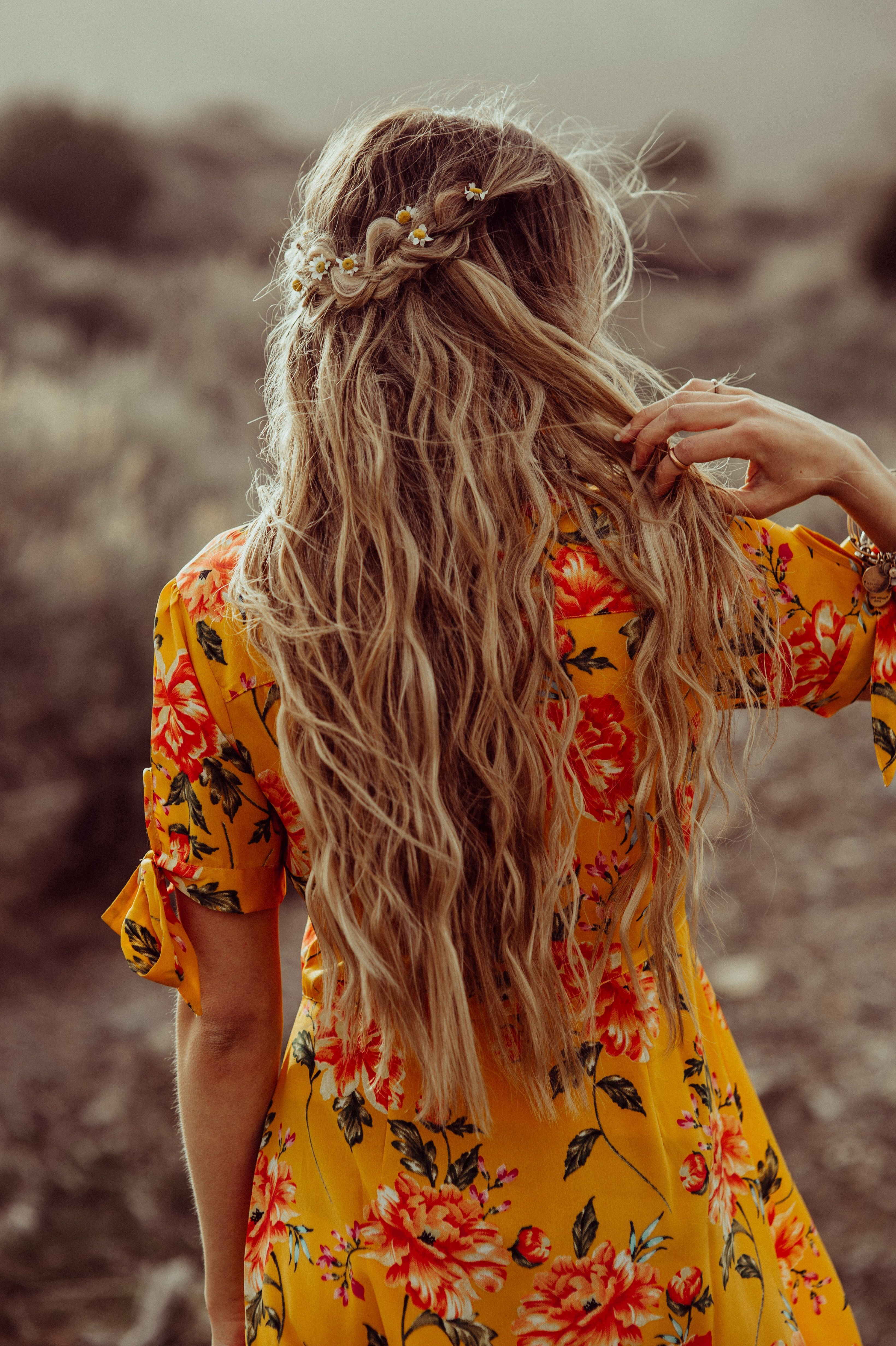 Bohemian braided hairstyle | Braided hairstyles, Hair styles, Hair 101