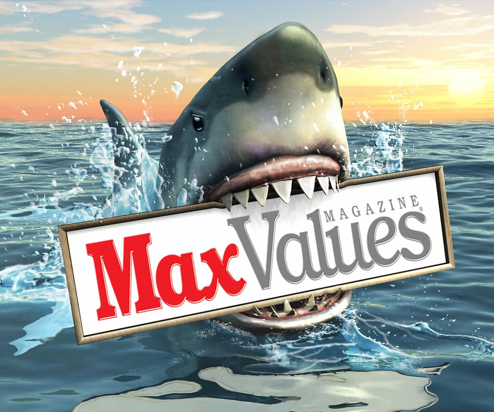Own a business? Run an ad in the BEST looking magazine in town! Don't settle for bad paper and bad print quality used in those other coupon magazines. We offer superior quality at competitive rates. Call us today 855-759-7071 or visit our site @ www.maxvaluesmag.com today! #SharkWeek #DirectMail #Advertising