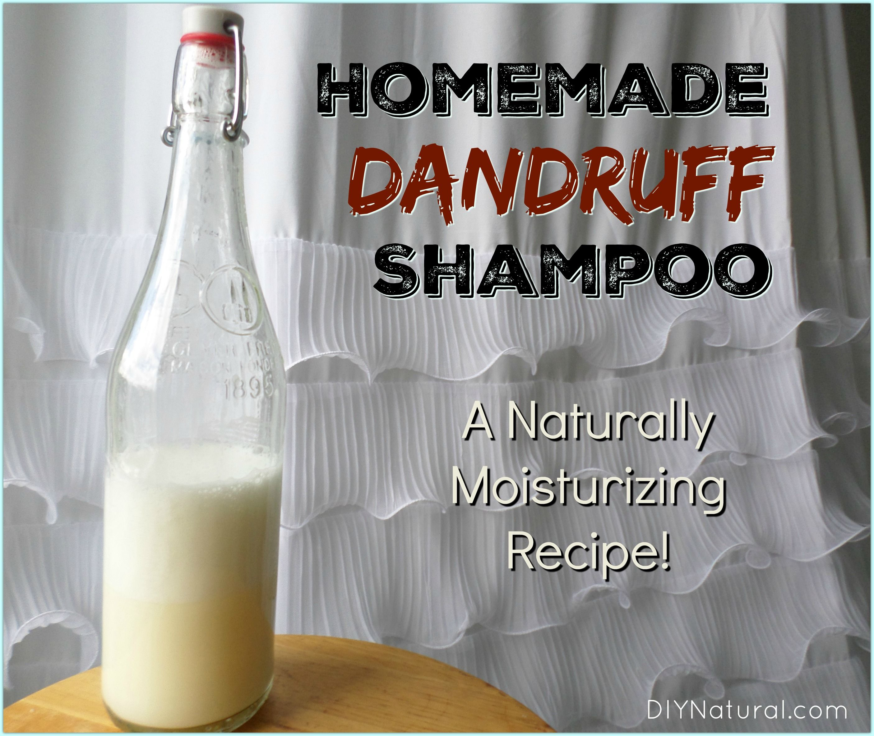 Moisturizing Homemade Dandruff Shampoo Recipe Home
