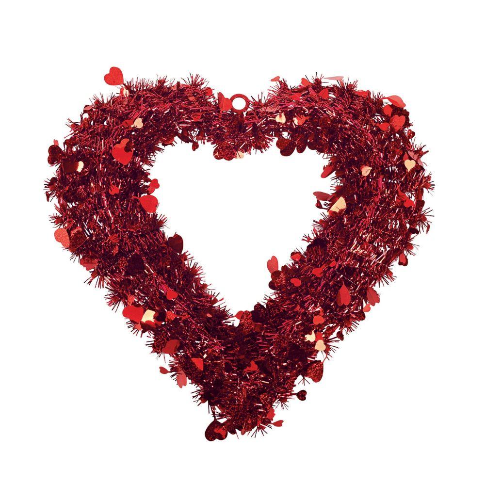 Garland Heart-Shaped Wreath