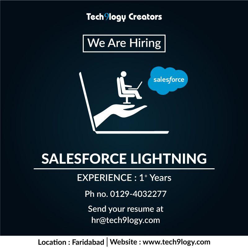 Careers Salesforce developer, Career, We are hiring