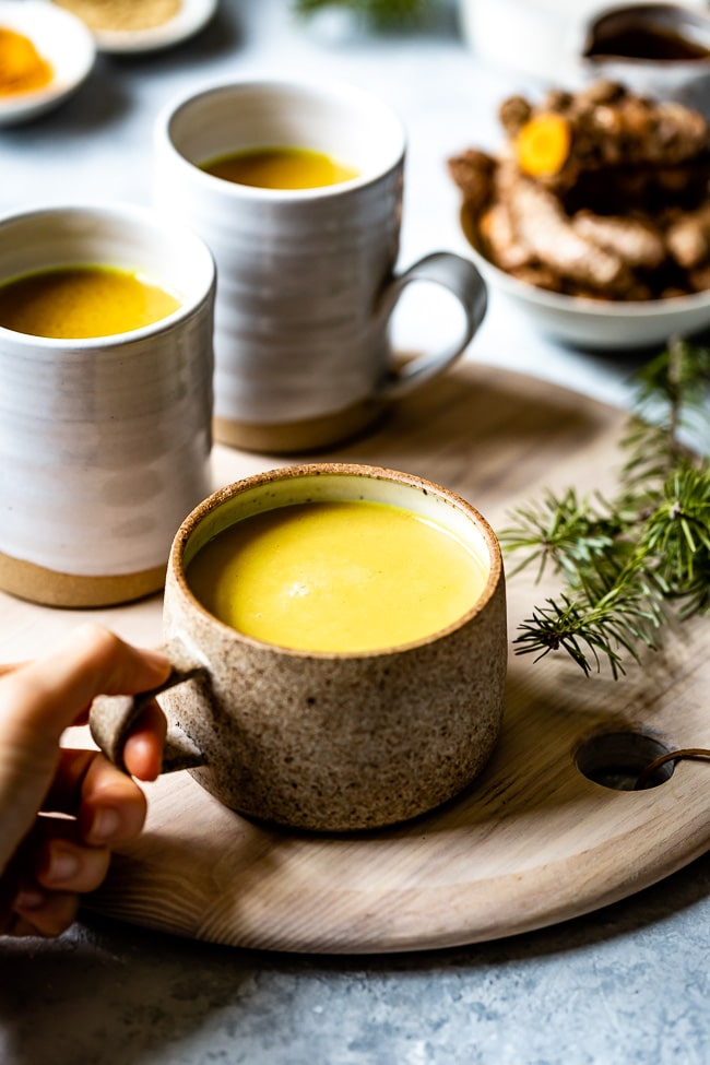 Turmeric Golden Milk Recipe Milk recipes, Turmeric