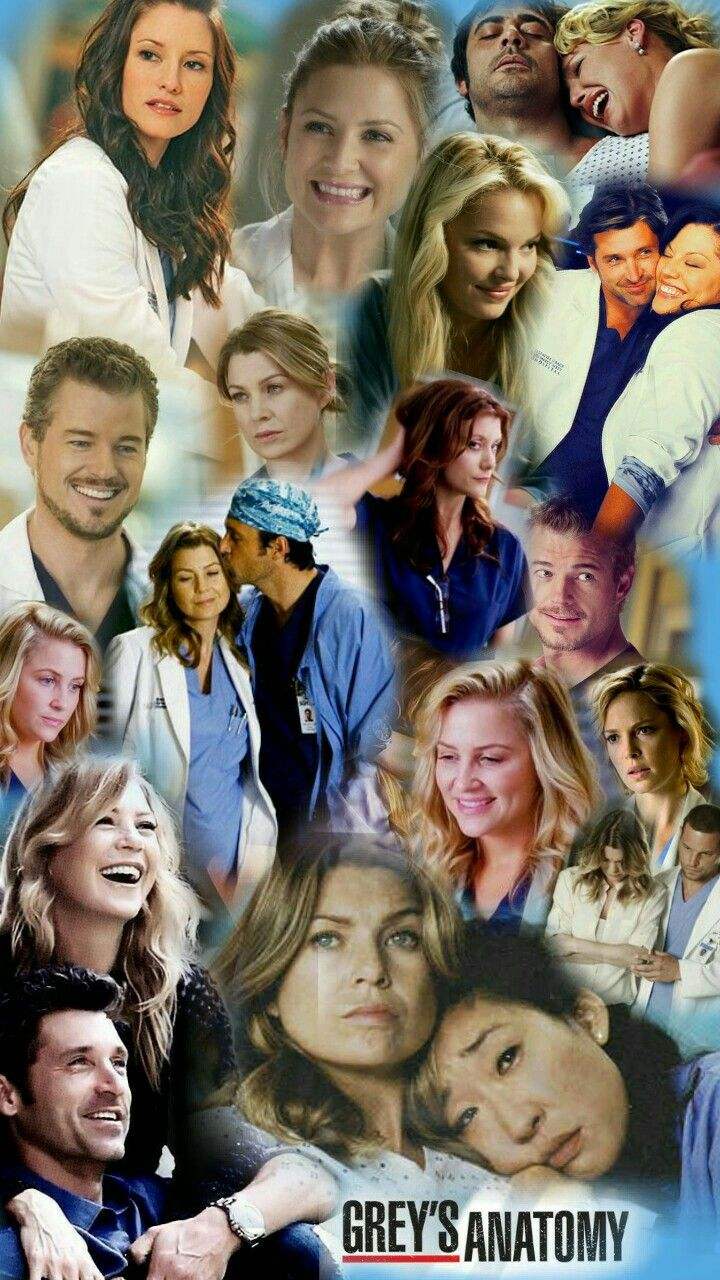 Greys Anatomy Colagem Awesomeness Greys Anatomy Anatomy Greys